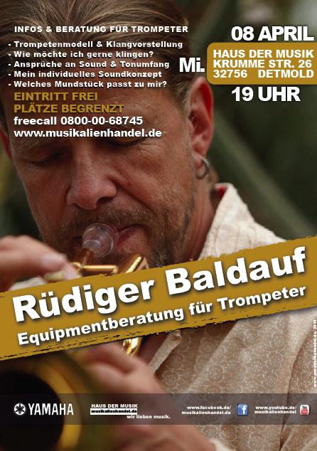 Equipmentberatung: Workshop in Detmold mit Rüdiger Baldauf