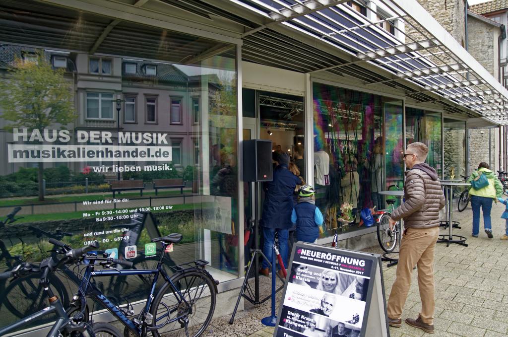 Ladengeschäft am Wallgraben 6, Detmold