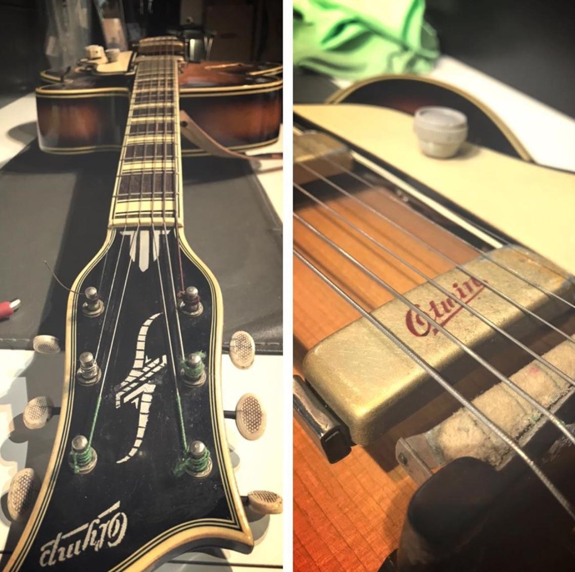 Werkstatt Gitarre 12