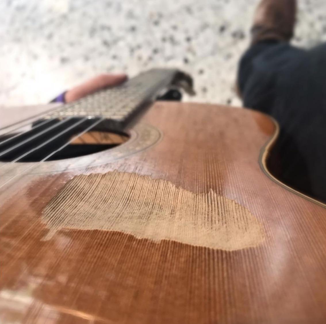 Werkstatt Gitarre 06